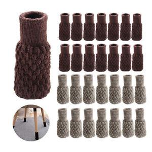 32-x-Calcetines-de-Silla-Tejer-Antideslizante-Mesa-Piso-Protector-Mueble-Cubrir