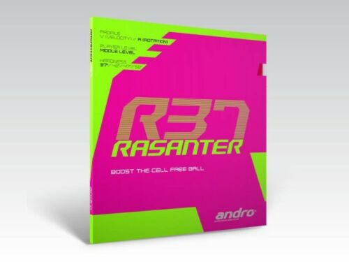 Andro Rasanter R37 Table Tennis Rubber