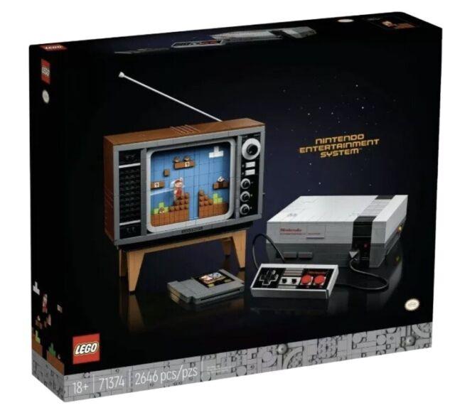 Lego Super Mario Nintendo Entertainment System (71374) Brand New In Hand