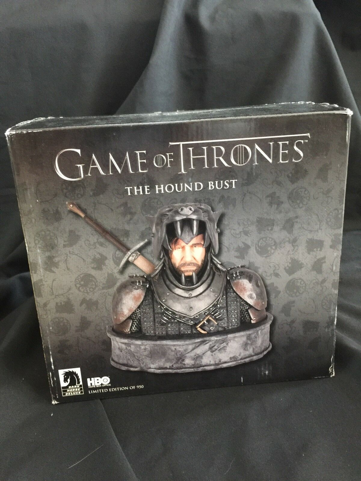 Game of Thrones The Hound Bust Dark Horse Limited Edition MIB