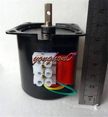 Synchronous Motor to 110 RPM CW//CCW 14W Gear Motor 60KTYZ 110V AC 60Hz