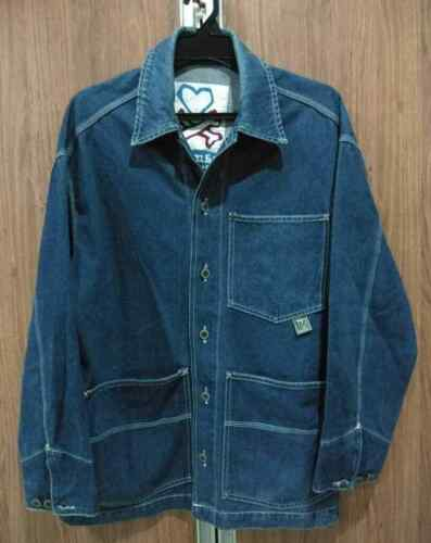 MAMBO WORKSHIRT STYLE DENIM JACKET