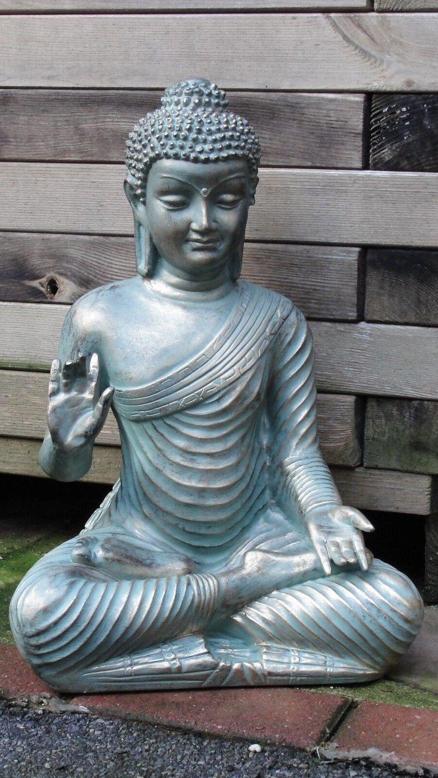 Buddha Budda Groß Statue Feng Shui GKunsten Figur Wetterfest Tempelwächter  G-G