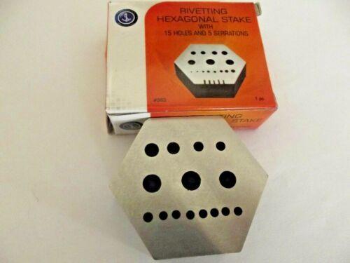 base incudine micromeccanica 15 fori 6 linee strumento orologiai rivetting stake