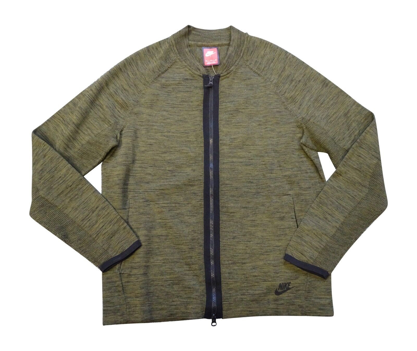 Nike Sportkleidung Herren Tech Strick Bomber Jacke 810558 Pulli 347