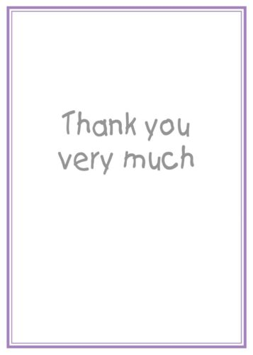 BOXER DOG CUTE THANK YOU CARD FREE POST 1ST CLASS THANK YOU FOR YOUR KINDNESS