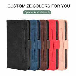 Für umidigi a7/a7s/a7 Pro Shockproof Magnetic Leder Wallet Flip Case Cover