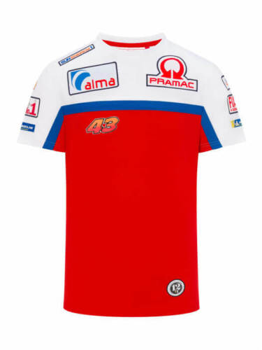 2019 Alma Pramac Racing MotoGP Mens T-Shirt RED Jack Miller Size S-XXL