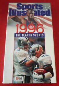 VHS-Movie-Sports-Illustrated-1996-The-Year-in-Sports