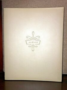 HALLMARK-Keepsake-WEDDING-PHOTO-ALBUM-Refill-Photo-Pages-ALWAYS-SCRAPBOOK-Ivory