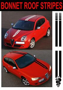 Alfa-Romeo-Cofano-Tetto-Strisce-146-146-147-156-Mito