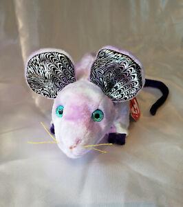 TY Beanie Baby RAT Chinese Zodiac Born Year 1960, 1972, 1984, 1996, 2008, 2020