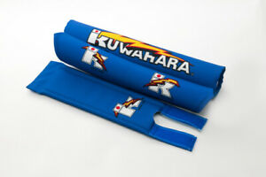 Kuwahara-Re-issued-BMX-V-Bar-Pad-Set-in-Blue