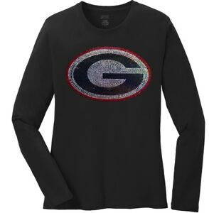 1996ea8ef9aa Women's University of Georgia Bulldogs Ladies Bling Long Sleeve T ...