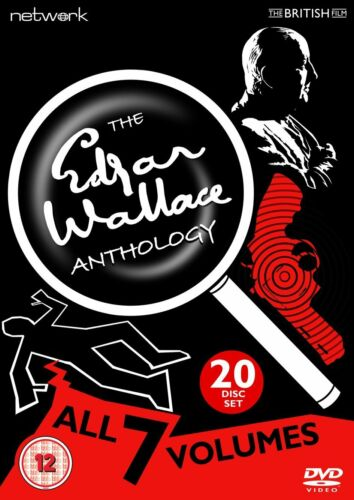 THE EDGAR WALLACE ANTHOLOGY dvds SEALED/NEW Collection All 7 Mysteries Volumes