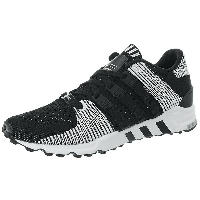Adidas Equipment Soporte RF Primeknit Negro para Hombre de Estilo de Vida Bajo Superior Zapatillas Nuevas