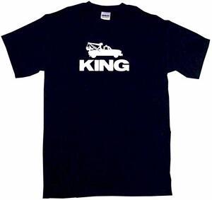 Tow-Truck-King-Kids-Tee-Shirt-Boys-Girls-Unisex-2T-XL