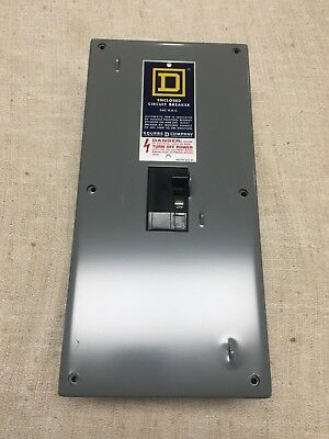 """11/"""" x 6/"""" Outdoor Type BR 100 Amp Enclosed Breaker 2 Pole Non Fusible Disconnect"""