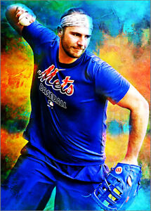 2020-Pete-Alonso-New-York-Mets-18-25-Art-ACEO-Sketch-Print-Card-By-Q