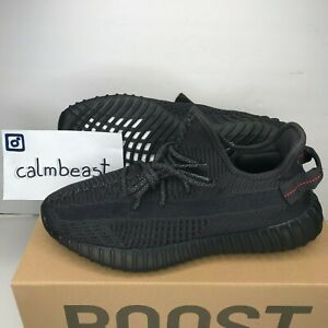 sports shoes 428d0 af074 Details about Adidas Yeezy Boost 350 V2 Black Non Reflective 2019 Kanye  West Sneaker