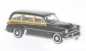 Neo-Scale-Model-1-43-46435-Chevrolet-Skyline-De-Luxe-Station-Wagon-Black-1952