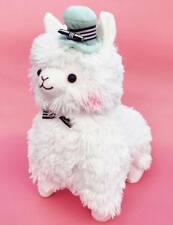 Kawaii Large 38cm Tall Alpaca Llama Plush Pastel Mint /& Peach With Cute Pom Bow