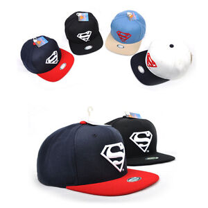 07d26893c7f Details about Unisex Mens Womens Superman WB DC Comics Super Man Baseball  Cap Snapback Hats