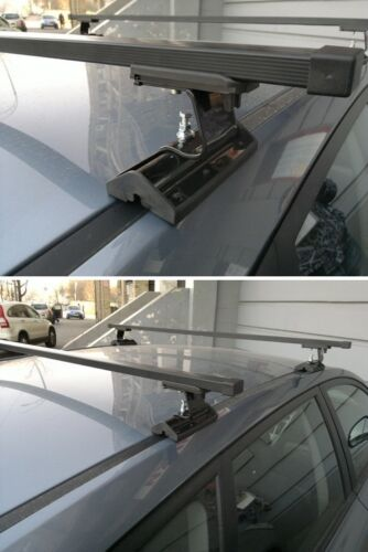 Complete Roof Rack Bar Set for Ford Mondeo Mk 3 2001-2007 Fix Point Mounting