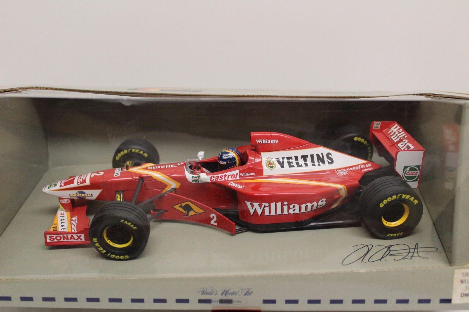 Minichamps 1:18 formula 1 Williams f1 Mecachrome H.H. Frentzen Launch Version 1998