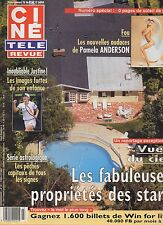 CINE REVUE (belge) 2001 N°27 pamela anderson justine henin albert de monaco