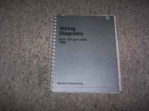 image is loading 1990-vw-volkswagen-golf-gti-jetta-electrical-wiring-