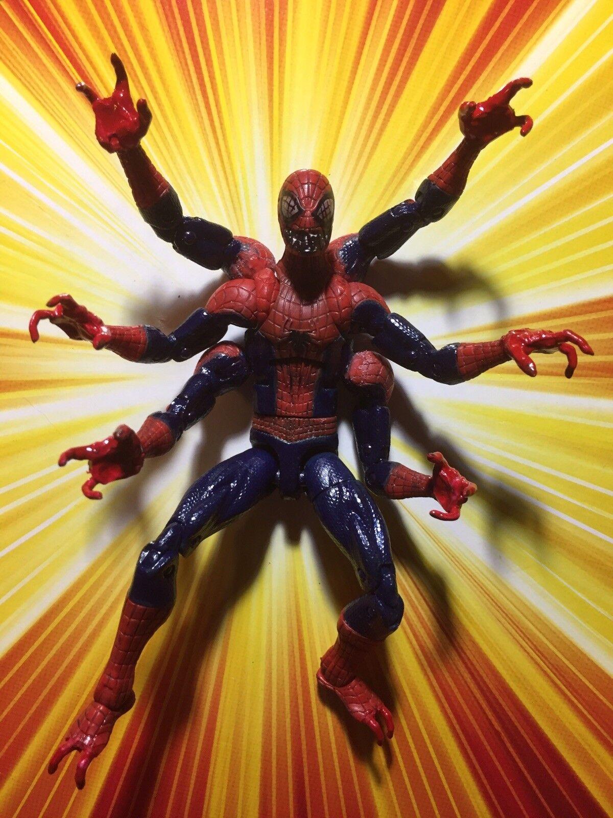 Marvel Legends CUSTOM DOPPLEGANGER - Spider Man Woman Girl Venom Carnage Scream