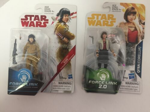 Star Wars Force Link /& Force Link 2.0 Action Figure Sets With Accessories Choose