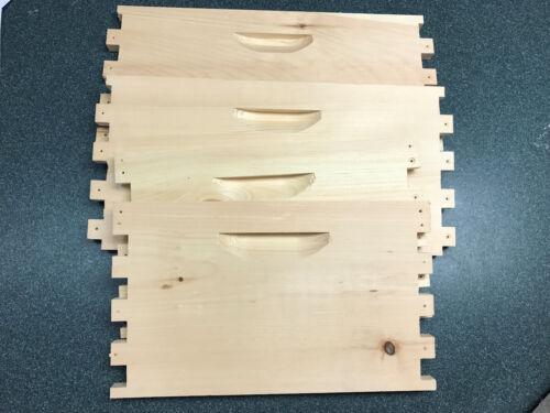 Unassembled DEEP 10 Frame Honey Super Langstroth Beehive Box Commercial Pine