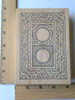 Rare - Outlines Rubber Stamps - Oblong Frames -