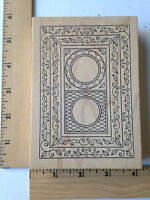 Rare - Outlines Rubber Stamps - Oblong Frames -