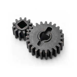 KYX-Gear-Portal-Axle-Steel-Teeth-Kit-Para-Axial-Capra-UTB-RC-Crawler-Car-Parts