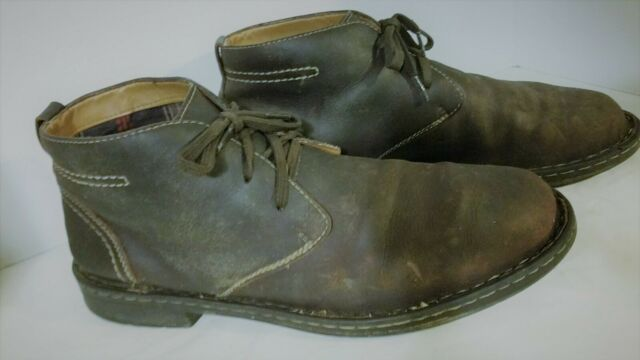 Clarks Brown Leather Kyros Chukka Boot