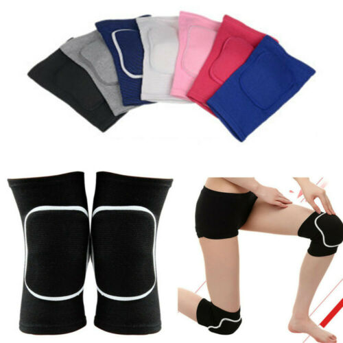 Nylon Football Volleyball Basketball Soccer Cycling Yoga Support Dance Knee Pads