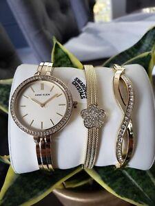 Authentic-Anne-Klein-Watch-Set