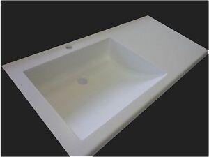 Corian Waschbecken waschbecken waschtisch neu corian lg hi macs becken ebay