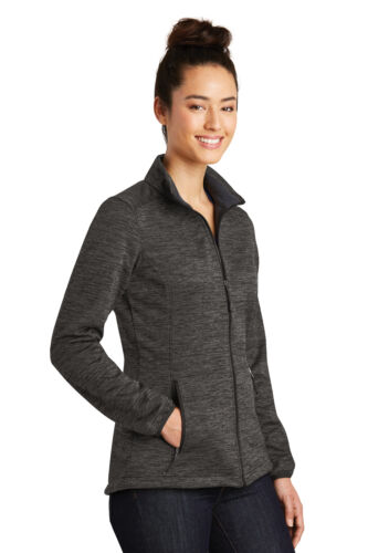 Ladies PosiCharge Electric Heather Soft Shell Jacket Warm water-resistant XS–4X