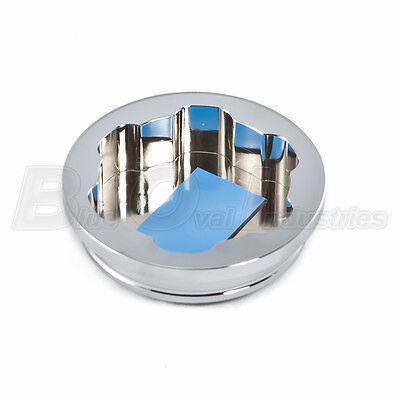 1998-2014 Mustang Chrome Billet Aluminum Radiator Overflow Intercooler Cap Cover