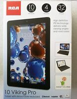 RCA 10 Viking Pro Tablet 2-in1 Android 5.0,32GB Quad Core /keyboard (Black)