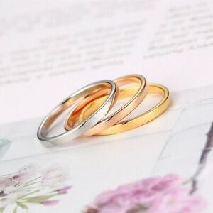 2mm-Thin-Stackable-Ring-Stainless-Steel-Plain-Band-for-Women-Girl-Size-3-10