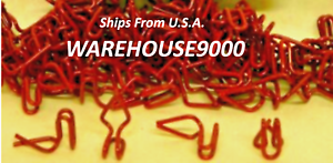 100 Trim Panel Fasteners Auveco #2309 Use For Ford and Chrysler Automobile Trim