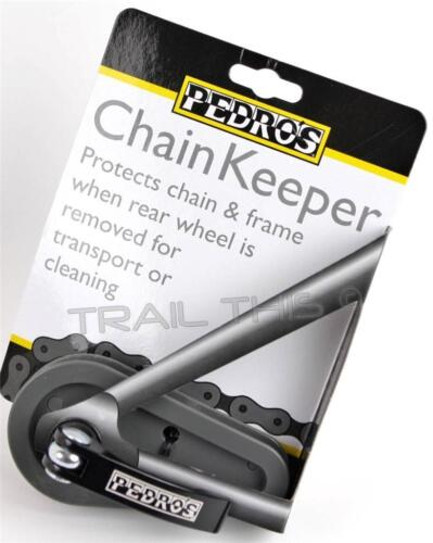 Pedro/'s Chain Keeper Bike Chain Frame Protector for Transport Cleaning Pedros