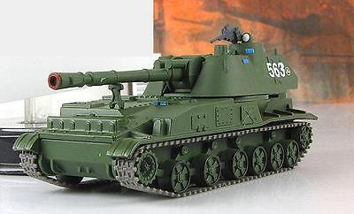 Fabbri 1:72 self-propelled artillery 2S3 Akatsia & mag №57 series Russian tanks