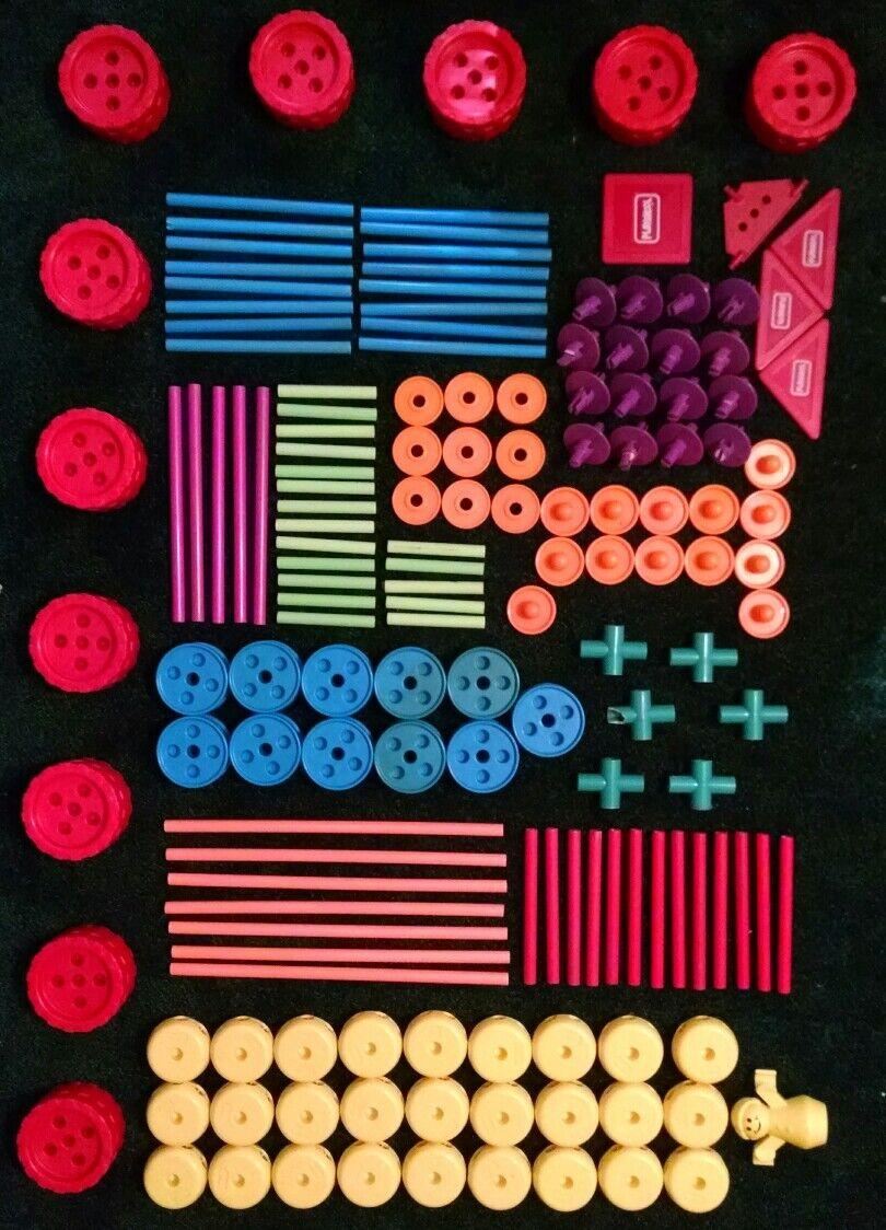 150 + vintage blechspielzeug playskool systembauweise 1991 von 802, 803, 804.