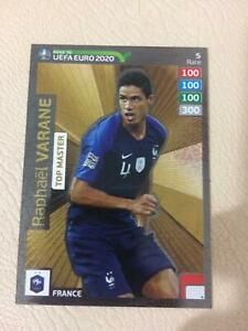 Top-master-Raphael-Varan-road-er-UEFA-EURO-2020-Panini-Adrenalyn-XL-RARE-n-5-NEW